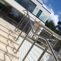 Patio balustrade cables