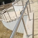Staircase balustrade wires